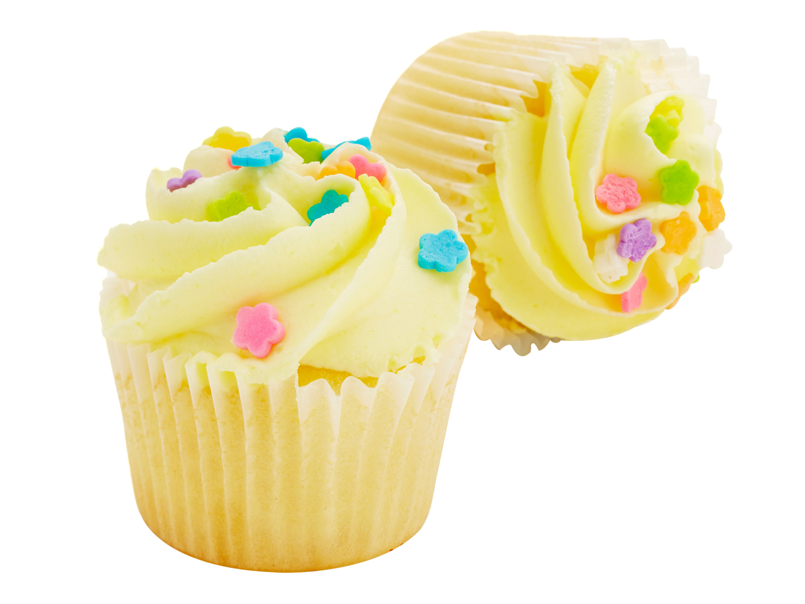 two-bite Seasonal Spring Cupcakes