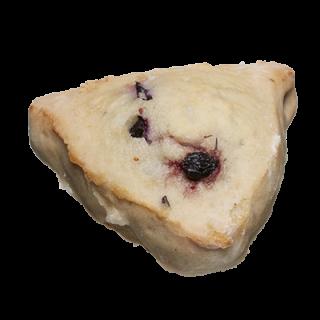 two-bite Blueberry Scone