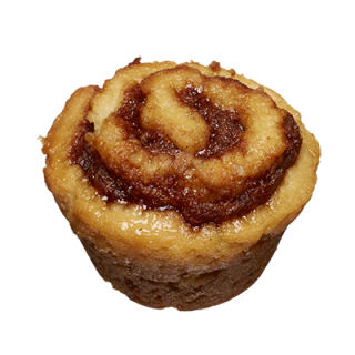 two-bite Cinammon Roll