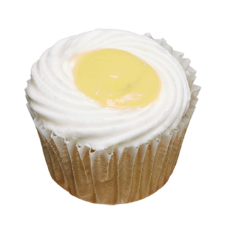 two-bite Lemon Cupcake
