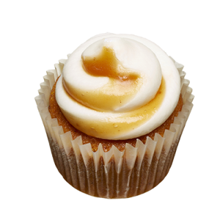 two-bite Pumpkin Cupcake