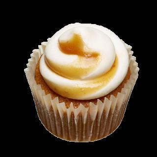 two-bite Pumpkin Cupcake