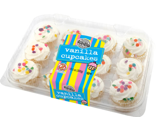 03000 - two-bite Everyday Vanilla Cupcakes - Pack