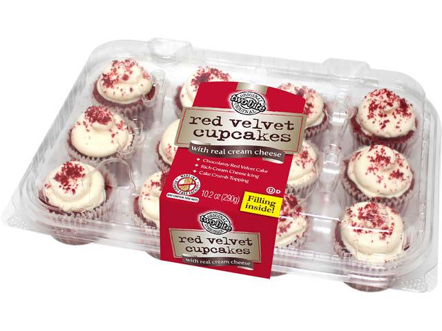 05072 - TB Red Velvet Premium Cupcakes - Pack