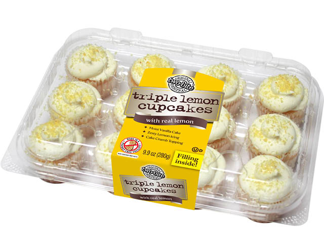 05074 - TB Triple Lemon Premium Cupcakes - Pack