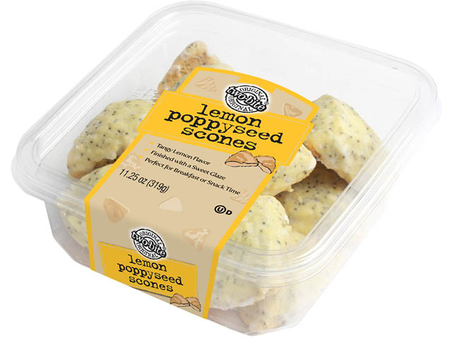 06197 - TB Lemon Poppyseed Scones - Sq Tub