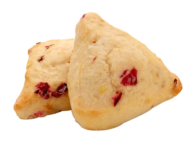 two-bite Orange Cranberry Scones