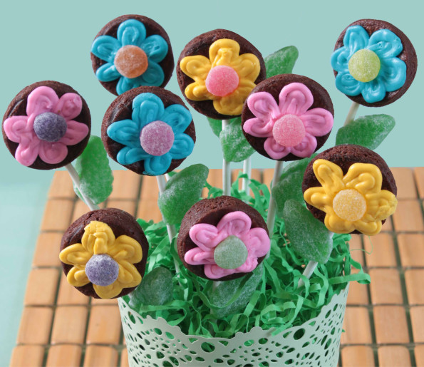 Brownie Bouquet Recipe