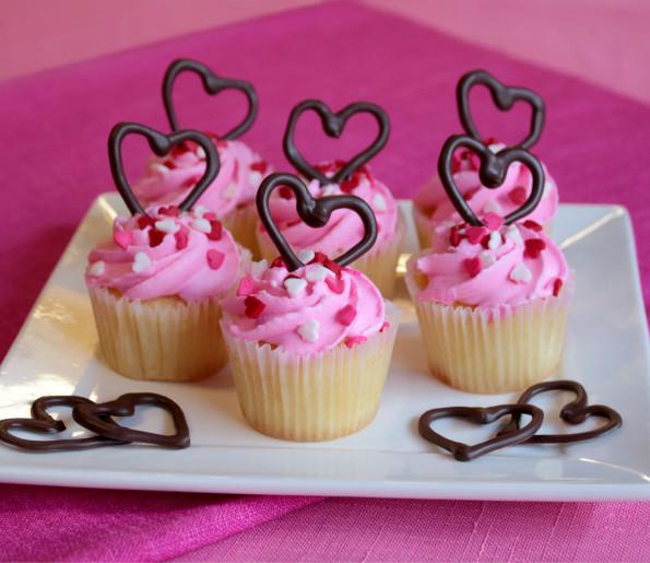 Cupcake Heart Valentines Recipe