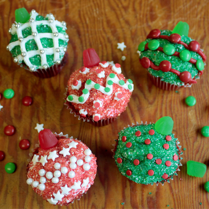 Cupcake Ornaments Recipe