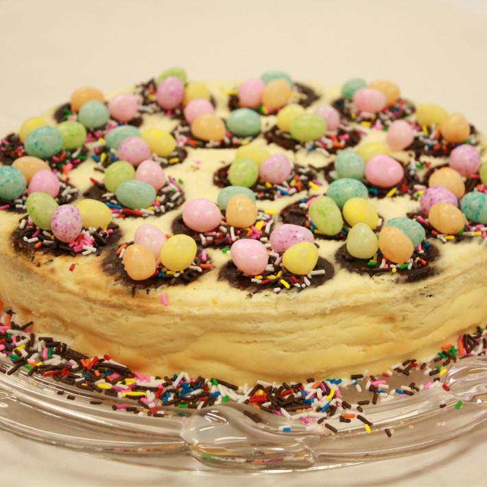 Easter Brownie Cheesecake Recipe