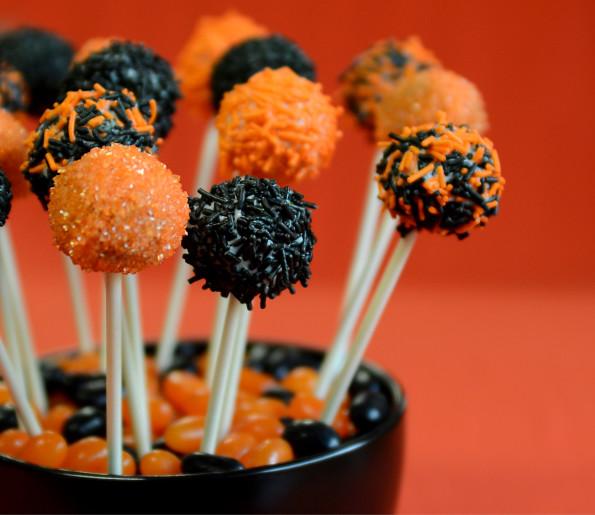 Halloween Brownie Pops Recipe