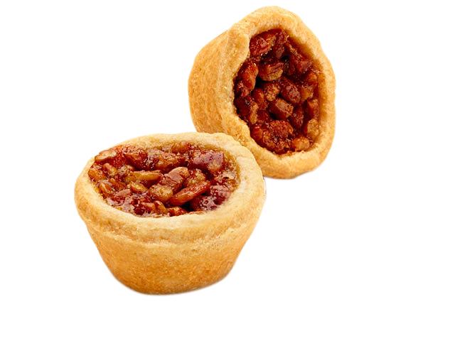 two-bite Pecan Tart
