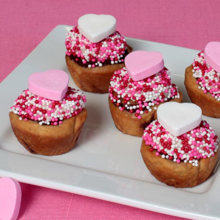 Valentines Cinnamon Rolls Recipe