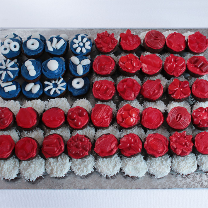 4th of July Brownies Recipe