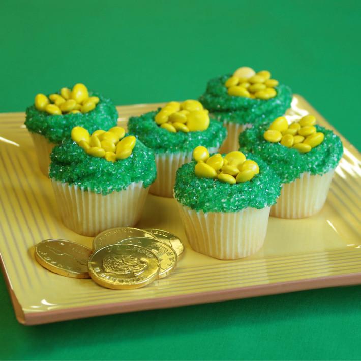 pot of gold cupcakes recipe